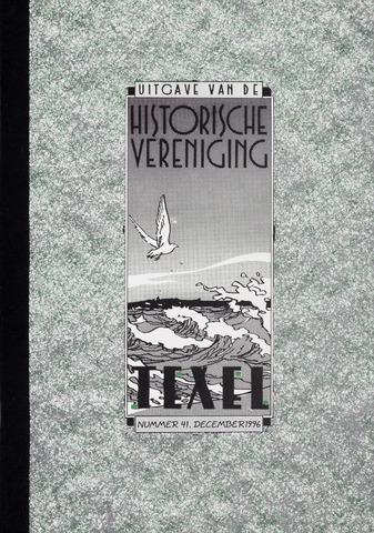 Uitgave Historische Vereniging Texel 1996-12-01