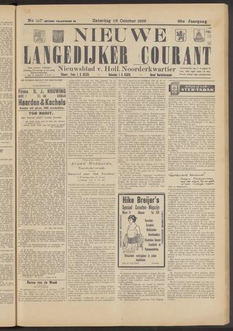 Nieuwe Langedijker Courant 1929-10-26