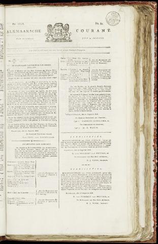 Alkmaarsche Courant 1818-08-24