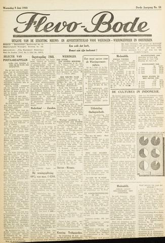 Flevo-bode: nieuwsblad voor Wieringen-Wieringermeer 1948-06-09