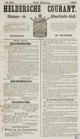 Heldersche Courant 1866-10-20