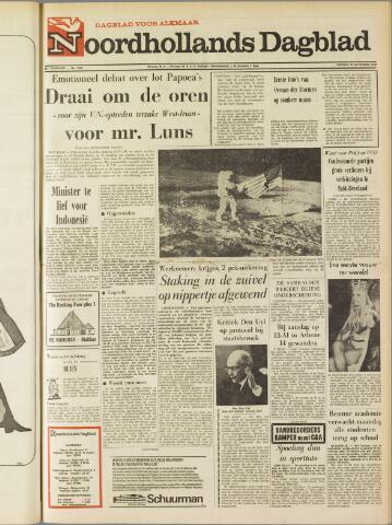 Noordhollands Dagblad : dagblad voor Alkmaar en omgeving 1969-11-28