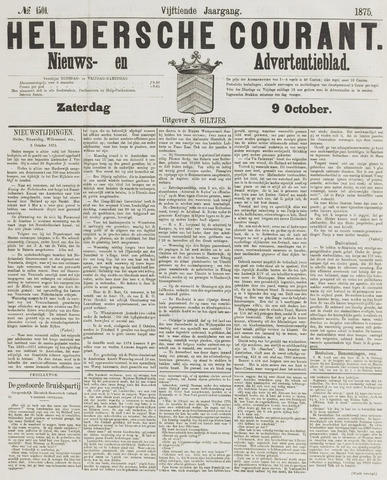 Heldersche Courant 1875-10-09