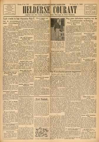 Heldersche Courant 1949-01-25