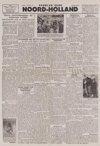 Dagblad Noord-Holland, Schager editie 1943-10-01