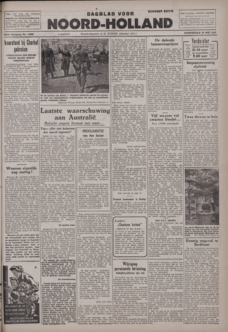 Dagblad Noord-Holland, Schager editie 1942-05-28