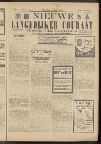 Nieuwe Langedijker Courant 1928-04-21