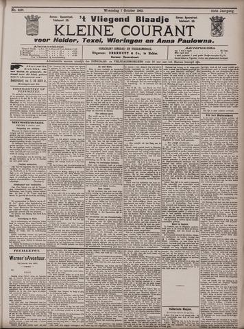 Vliegend blaadje : nieuws- en advertentiebode voor Den Helder 1903-10-07