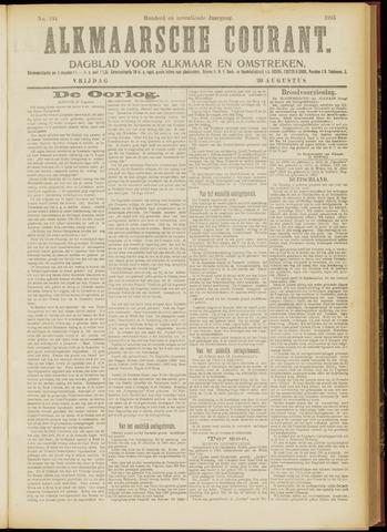 Alkmaarsche Courant 1915-08-20