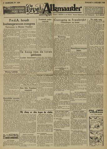De Vrije Alkmaarder 1949-01-04