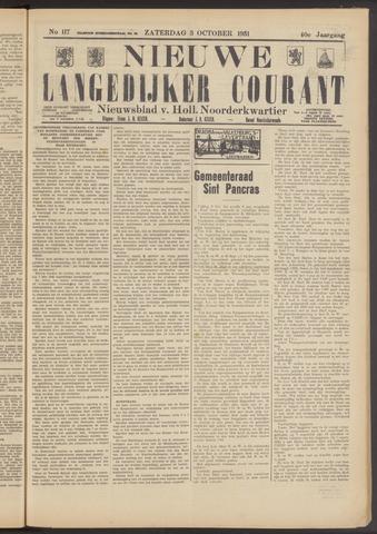 Nieuwe Langedijker Courant 1931-10-03