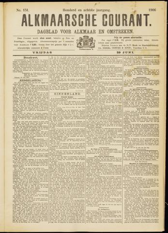 Alkmaarsche Courant 1906-06-29