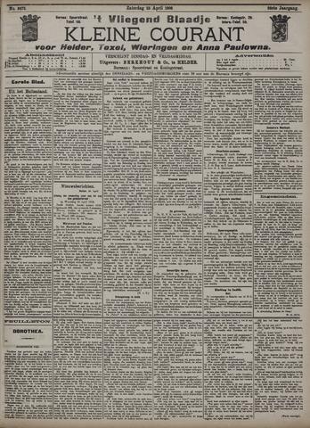 Vliegend blaadje : nieuws- en advertentiebode voor Den Helder 1908-04-25