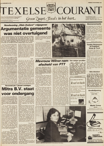 Texelsche Courant 1982-11-30