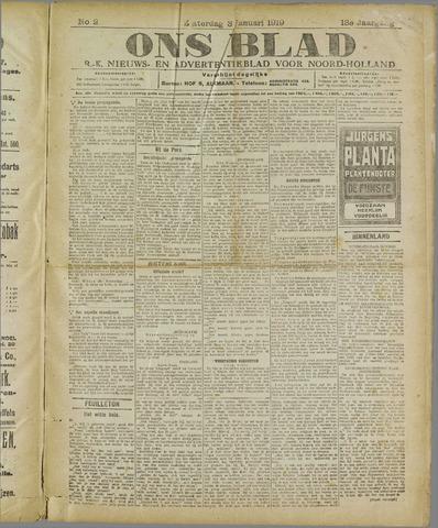 Ons Blad : katholiek nieuwsblad voor N-H 1920-01-03