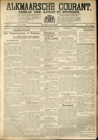 Alkmaarsche Courant 1933-04-19