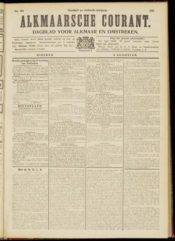 Alkmaarsche Courant 1911-08-08