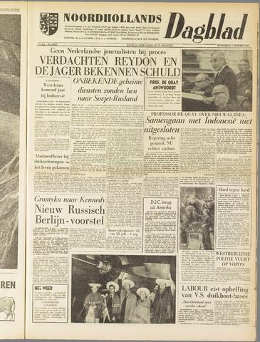 Noordhollands Dagblad : dagblad voor Alkmaar en omgeving 1961-10-05