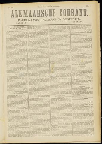 Alkmaarsche Courant 1914-02-21