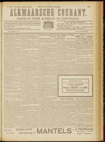 Alkmaarsche Courant 1918-11-09