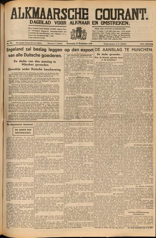 Alkmaarsche Courant 1939-11-22