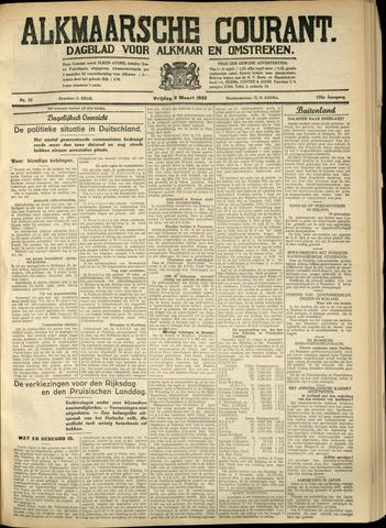 Alkmaarsche Courant 1933-03-03
