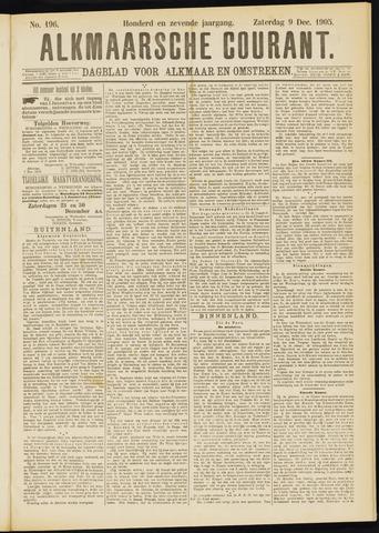 Alkmaarsche Courant 1905-12-09
