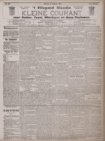 Vliegend blaadje : nieuws- en advertentiebode voor Den Helder 1902-12-13