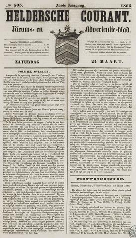 Heldersche Courant 1866-03-24