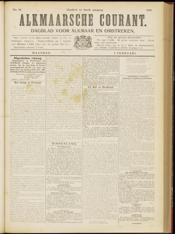 Alkmaarsche Courant 1908-02-03