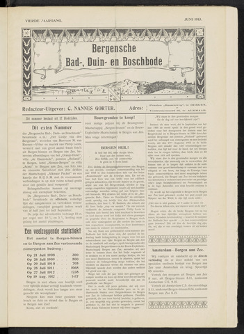 Bergensche bad-, duin- en boschbode 1913-06-07