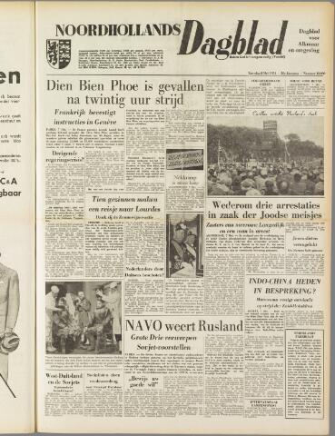 Noordhollands Dagblad : dagblad voor Alkmaar en omgeving 1954-05-08