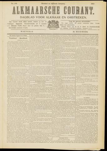 Alkmaarsche Courant 1913-12-24