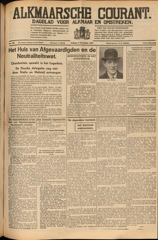 Alkmaarsche Courant 1939-11-03