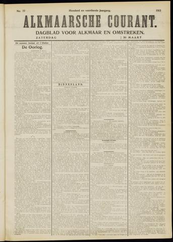 Alkmaarsche Courant 1912-03-30