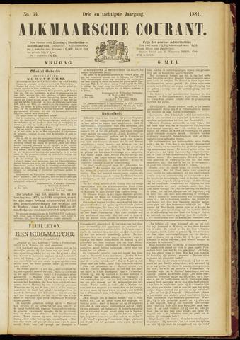 Alkmaarsche Courant 1881-05-06