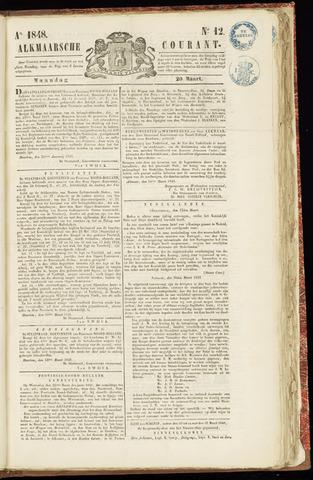 Alkmaarsche Courant 1848-03-20