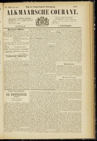 Alkmaarsche Courant 1893-09-03