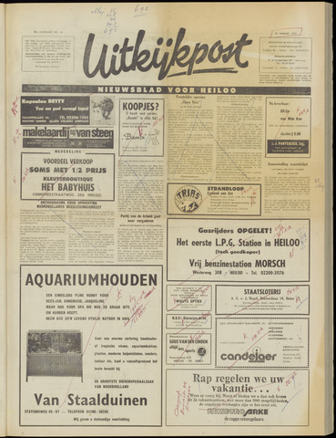 Uitkijkpost : nieuwsblad voor Heiloo e.o. 1973-01-10