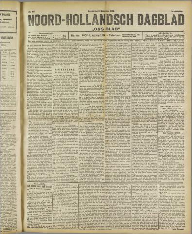 Ons Blad : katholiek nieuwsblad voor N-H 1922-11-02