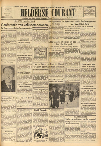 Heldersche Courant 1950-10-21