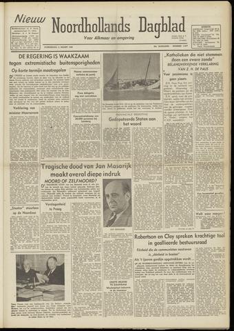 Nieuw Noordhollandsch Dagblad : voor Alkmaar en omgeving 1948-03-11