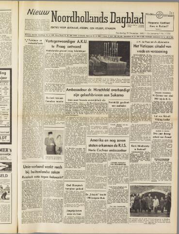Nieuw Noordhollandsch Dagblad : voor Alkmaar en omgeving 1949-12-29