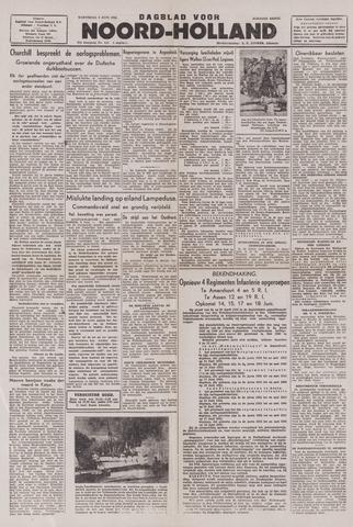 Dagblad Noord-Holland, Schager editie 1943-06-09