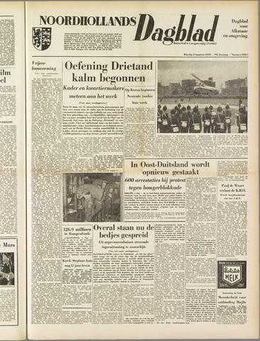 Noordhollands Dagblad : dagblad voor Alkmaar en omgeving 1953-08-04