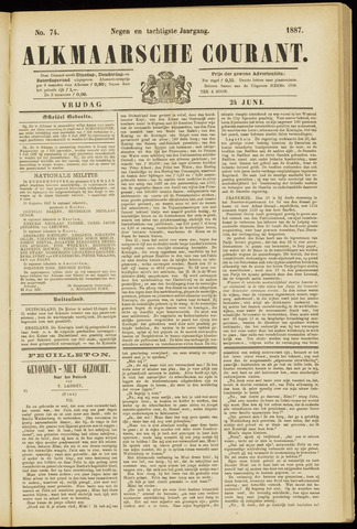 Alkmaarsche Courant 1887-06-24