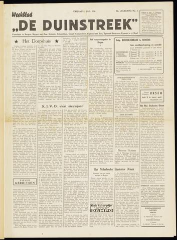 De Duinstreek 1956-01-13