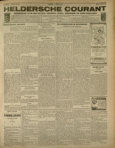 Heldersche Courant 1931-04-07