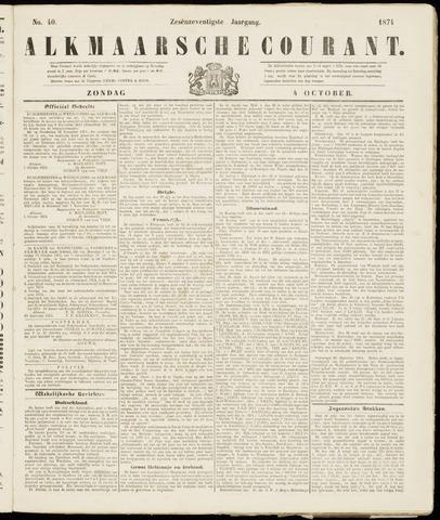 Alkmaarsche Courant 1874-10-04