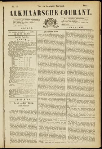 Alkmaarsche Courant 1882-02-05